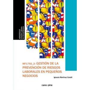 GESTION DE LA PREVENCION DE RIESGOS LABORALES EN PEQUEÑOS NEGOCIOS