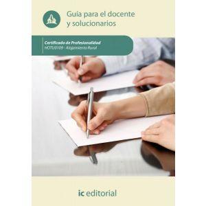 ALOJAMIENTO RURAL. HOTU0109 - GUIA PARA EL DOCENTE Y SOLUCIONARIOS