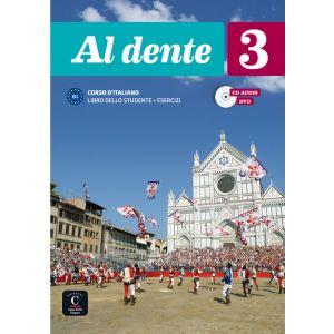 AL DENTE 3 NIVEL B1 LIBRO DEL ALUMNO + CUADERNO DE EJERCICIOS + CD + DVD 2º TRIM