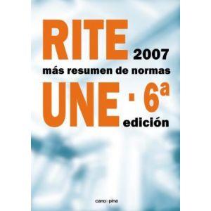 RITE 2007 RESUMEN NORMAS UNE 6ª EDICION
