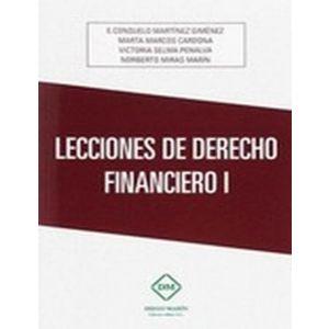 DERECHO FINANCIERO I. PARTE GENERAL