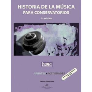 HISTORIA DE LA MUSICA PARA CONSERVATORIOS