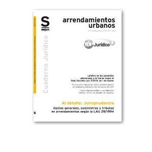 GASTOS GENERALES  SUMINISTROS Y TRIBUTOS EN ARRENDAMIENTOS SEGUN LA LAU 29/1994