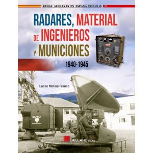 RADARES  MATERIAL DE INGENIEROS Y MUNICIONES 1940-1945