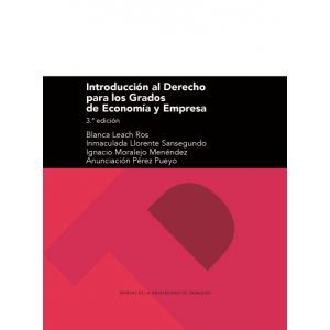 INTRODUCCION AL DERECHO PARA LOS GRADOS DE ECONOMIA Y EMPRESA (3ª EDICION)