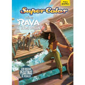 RAYA Y EL ULTIMO DRAGON. SUPERCOLOR