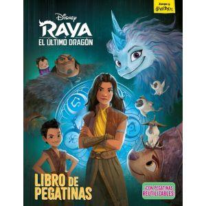 RAYA Y EL ULTIMO DRAGON. LIBRO DE PEGATINAS