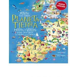 ATLAS PARA NIÑOS  PLANETA TIERRA -NUEVA EDICION