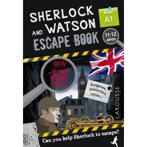 SHERLOCK AND WATSON  ESCAPE BOOK NIVEL A1 11- 12 AÑOS