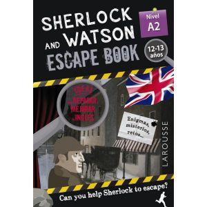 SHERLOCK & WATSON ESCAPE BOOK PARA REPASA  NIVEL A2 12-13 AÑOS