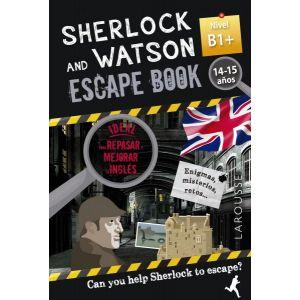 SHERLOCK & WATSON ESCAPE BOOK PARA REPASA NIBEL B1+ 14 -15 AÑOS
