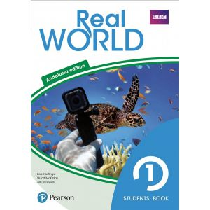 REAL WORLD 1 STUDENTS´ BOOK WITH ONLINE AREA & VOCABULARY APP (ANDALUSIA