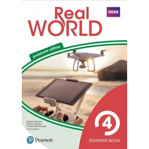 REAL WORLD 4 STUDENTS´ BOOK WITH ONLINE AREA & VOCABULARY APP (ANDALUSIA