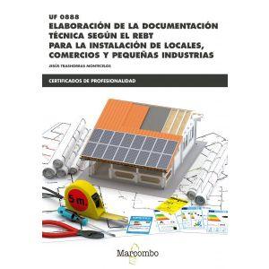 *UF0888  ELABORACION DE LA DOCUMENTACION TECNICA SEGUN EL REBT
