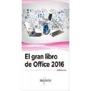 EL GRAN LIBRO DE OFFICE 2016