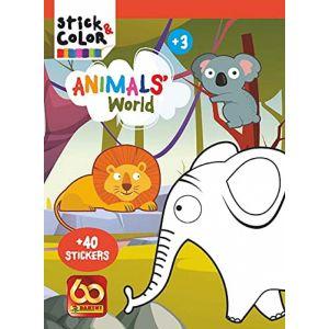 STICK&COLOR ANIMALS WORLD