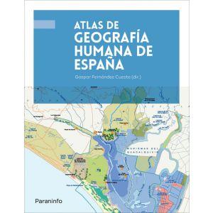 ATLAS DE GEOGRAFIA HUMANA DE ESPAÑA