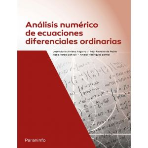 ANALISIS NUMERICO DE ECUACIONES DIFERENCIALES ORDINARIAS