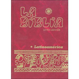 LA BIBLIA LATINOAMERICA - LETRA NORMAL (CARTONE)