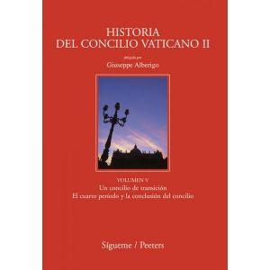HISTORIA DEL CONCILIO VATICANO II VOLUMEN V UN CONCILIO DE TRANSICION EL CUARTO