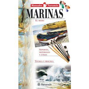 MANUALES PARRAMON TEMAS PICTORICOS MARINAS