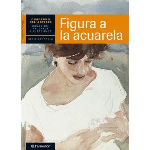 CUADERNO DEL ARTISTA  FIGURA A LA ACUARELA