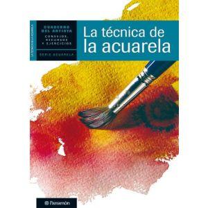 CUADERNO DEL ARTISTA  LA TECNICA DE LA ACUARELA
