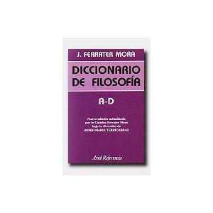 DICCIONARIO DE FILOSOFIA  VOL. 1: A-D