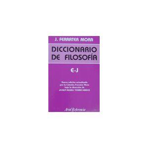 DICCIONARIO DE FILOSOFIA TOMO II   E  J