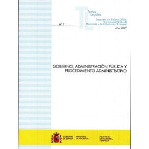 GOBIERNO   ADMINISTRACION PUBLICA Y PROCEDIMIENTO ADMINISTRATIVO