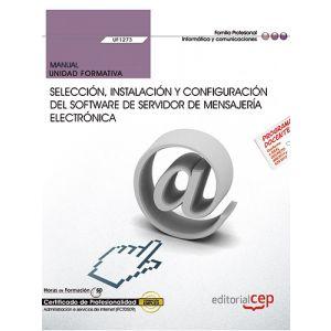 MANUAL. SELECCION  INSTALACION Y CONFIGURACION DEL SOFTWARE DE SERVIDOR DE MENSA