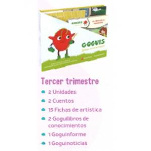 GOGUIS 3 AÑOS · TERCER TRIMESTRE