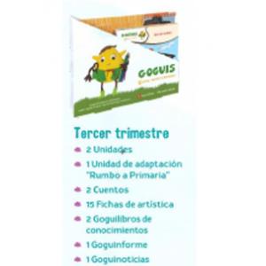 GOGUIS 5 AÑOS · TERCER TRIMESTRE