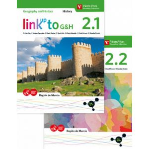 LINK UP TO G&H 2. REGION DE MURCIA. GEOGRAPHY AND HISTORY. BOOK 2.1 & 2.2