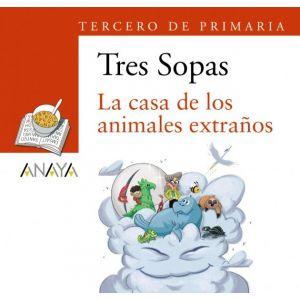 BLISTER LA CASA DE LOS ANIMALES EXTRAÑOS 3º DE PRIMARIA