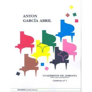 CUADERNOS DE ADRIANA 1 PIANO PARA PRINCIPIANTES