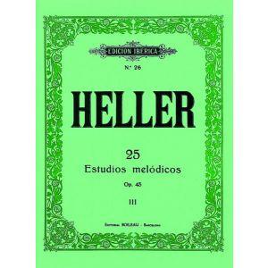 25 ESTUDIOS MELODICOS  OP. 45