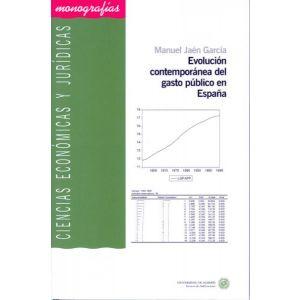 EVOLUCION CONTEMPORANEA DEL GASTO PUBLICO EN ESPAÑA