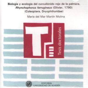 BIOLOGIA Y ECOLOGIA DEL CURCULIONIDO DE LA PALMERA  RHYNCHOPHORUS FERRUGINEUS (O