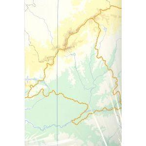 Paq/50 mapas c.madrid fisico mudos