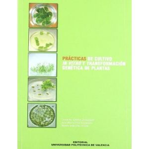 PRACTICAS DE CULTIVO IN VITRO Y TRANSFORMACION GENETICA DE PLANTAS