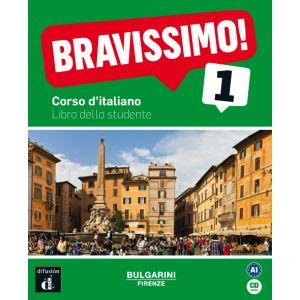 BRAVISSIMO! 1 NIVEL A1 LIBRO DEL ALUMNO + CD