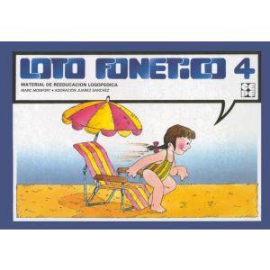LOTO FONETICO 4 MATERIAL DE REEDUCACION LOGOPEDICA  ACOMPAÑA CUADERNILLO