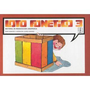 LOTO FONETICO 3 MATERIAL DE REEDUCACION + CUADERNILLO