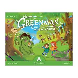 GREENMAN AND THE MAGIC FOREST A PUPIL´S BOOK WITH STICKERS AND POP-OUTS