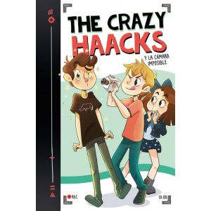 THE CRAZY HAACKS Y LA CAMARA IMPOSIBLE (SERIE THE CRAZY HAACKS 1)