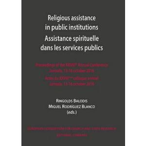 RELIGIOUS ASSISTANCE IN PUBLIC INSTITUTIONS ASSISTANCE SPIRITUELLE DANS LES