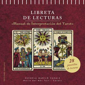 LIBRETA DE LECTURAS  MANUAL DE INTERPRETACION DEL TAROT`