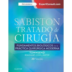 SABISTON TRATADO DE CIRUGIA + EXPERCONSULT