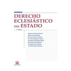 DERECHO ECLESIASTICO DEL ESTADO 2ª EDICION 2016